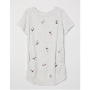 H&M MAMA Maternity T Shirt Size L NWT